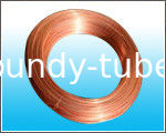 8* 0.65 mm Copper Coated Steel Bundy Tube With Standard Of GB/T 24187-2009
