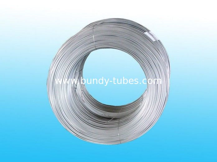Good Plasticity Galvanized Steel Tube 4mm X 0.5 mm For refrigerator , Zn Coated