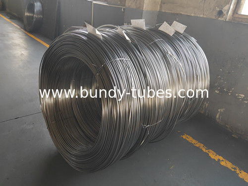 Welding Plain Steel Bundy Tube 4*0.5mm Performance Stable High Yield Strength